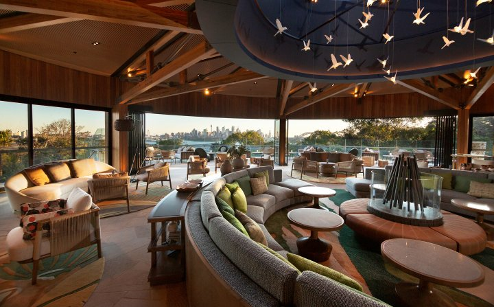 Extraordinary eco-retreat nestled on the edge of Sydney Harbour